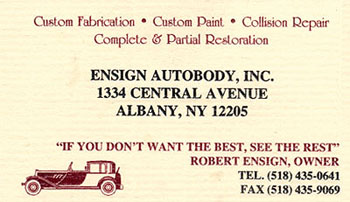 Ensign Autobody, Inc.